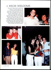 Page 16, 1986 Edition, Regis College - Ranger Yearbook (Denver, CO) online yearbook collection