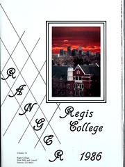 Page 5, 1986 Edition, Regis College - Ranger Yearbook (Denver, CO) online yearbook collection
