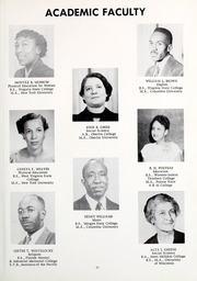 Page 15, 1953 Edition, Florida Memorial College - Arch Yearbook (Miami, FL) online yearbook collection