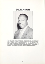 Page 8, 1953 Edition, Florida Memorial College - Arch Yearbook (Miami, FL) online yearbook collection