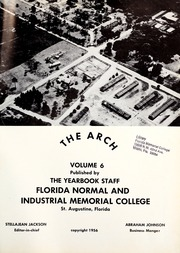 Page 5, 1956 Edition, Florida Memorial College - Arch Yearbook (Miami, FL) online yearbook collection