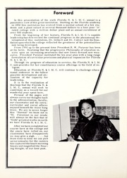 Page 6, 1956 Edition, Florida Memorial College - Arch Yearbook (Miami, FL) online yearbook collection