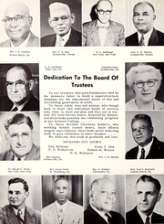 Page 8, 1956 Edition, Florida Memorial College - Arch Yearbook (Miami, FL) online yearbook collection