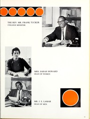 Page 15, 1966 Edition, Florida Memorial College - Arch Yearbook (Miami, FL) online yearbook collection