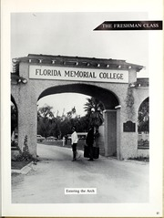 Page 27, 1966 Edition, Florida Memorial College - Arch Yearbook (Miami, FL) online yearbook collection