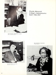 Page 14, 1967 Edition, Florida Memorial College - Arch Yearbook (Miami, FL) online yearbook collection