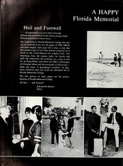 Page 6, 1967 Edition, Florida Memorial College - Arch Yearbook (Miami, FL) online yearbook collection
