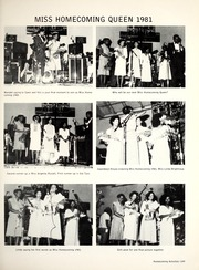 Page 153, 1981 Edition, Florida Memorial College - Arch Yearbook (Miami, FL) online yearbook collection
