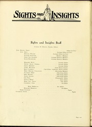 Page 14, 1924 Edition, Salem College - Sights and Insights Yearbook (Winston-Salem, NC) online yearbook collection