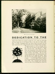 Page 10, 1930 Edition, Salem College - Sights and Insights Yearbook (Winston-Salem, NC) online yearbook collection