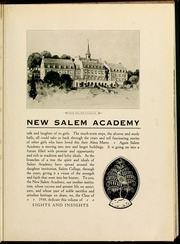 Page 11, 1930 Edition, Salem College - Sights and Insights Yearbook (Winston-Salem, NC) online yearbook collection