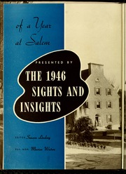 Page 6, 1946 Edition, Salem College - Sights and Insights Yearbook (Winston-Salem, NC) online yearbook collection