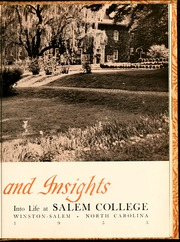 Page 9, 1953 Edition, Salem College - Sights and Insights Yearbook (Winston-Salem, NC) online yearbook collection