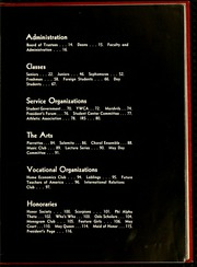 Page 11, 1957 Edition, Salem College - Sights and Insights Yearbook (Winston-Salem, NC) online yearbook collection
