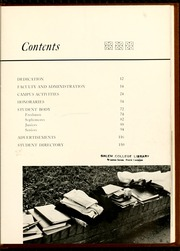 Page 15, 1958 Edition, Salem College - Sights and Insights Yearbook (Winston-Salem, NC) online yearbook collection