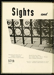 Page 6, 1959 Edition, Salem College - Sights and Insights Yearbook (Winston-Salem, NC) online yearbook collection