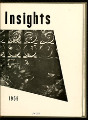 Page 7, 1959 Edition, Salem College - Sights and Insights Yearbook (Winston-Salem, NC) online yearbook collection