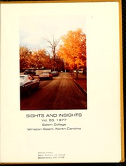Page 5, 1977 Edition, Salem College - Sights and Insights Yearbook (Winston-Salem, NC) online yearbook collection