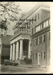 Page 5, 1987 Edition, Salem College - Sights and Insights Yearbook (Winston-Salem, NC) online yearbook collection