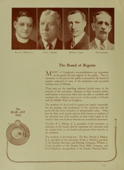 Page 14, 1933 Edition, Creighton University - Bluejay Yearbook (Omaha, NE) online yearbook collection