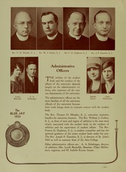 Page 16, 1933 Edition, Creighton University - Bluejay Yearbook (Omaha, NE) online yearbook collection