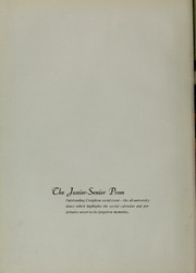 Page 12, 1939 Edition, Creighton University - Bluejay Yearbook (Omaha, NE) online yearbook collection