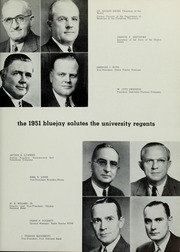 Page 17, 1951 Edition, Creighton University - Bluejay Yearbook (Omaha, NE) online yearbook collection