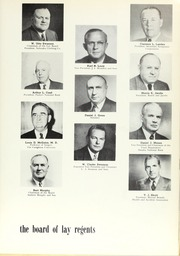 Page 11, 1955 Edition, Creighton University - Bluejay Yearbook (Omaha, NE) online yearbook collection