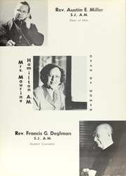 Page 13, 1955 Edition, Creighton University - Bluejay Yearbook (Omaha, NE) online yearbook collection