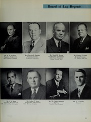 Page 15, 1957 Edition, Creighton University - Bluejay Yearbook (Omaha, NE) online yearbook collection