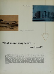 Page 9, 1957 Edition, Creighton University - Bluejay Yearbook (Omaha, NE) online yearbook collection