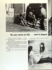 Page 58, 1971 Edition, Creighton University - Bluejay Yearbook (Omaha, NE) online yearbook collection