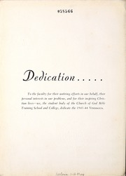 Page 8, 1944 Edition, Lee College - Vindauga Yearbook (Cleveland, TN) online yearbook collection