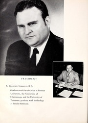 Page 16, 1954 Edition, Lee College - Vindauga Yearbook (Cleveland, TN) online yearbook collection