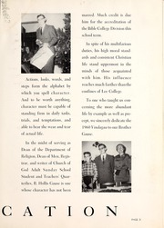 Page 7, 1960 Edition, Lee College - Vindauga Yearbook (Cleveland, TN) online yearbook collection