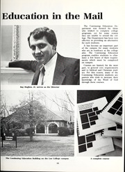 Page 17, 1983 Edition, Lee College - Vindauga Yearbook (Cleveland, TN) online yearbook collection