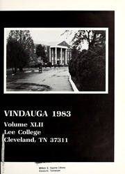 Page 5, 1983 Edition, Lee College - Vindauga Yearbook (Cleveland, TN) online yearbook collection