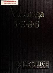 Page 1, 1988 Edition, Lee College - Vindauga Yearbook (Cleveland, TN) online yearbook collection