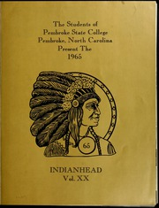Page 5, 1965 Edition, Pembroke State University - Indianhead Yearbook (Pembroke, NC) online yearbook collection