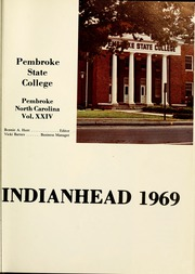 Page 5, 1969 Edition, Pembroke State University - Indianhead Yearbook (Pembroke, NC) online yearbook collection