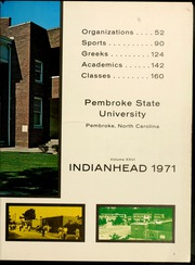 Page 7, 1971 Edition, Pembroke State University - Indianhead Yearbook (Pembroke, NC) online yearbook collection