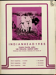 Page 5, 1985 Edition, Pembroke State University - Indianhead Yearbook (Pembroke, NC) online yearbook collection