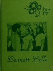 Page 1, 1974 Edition, Bennett College - Belle Yearbook (Greensboro, NC) online yearbook collection