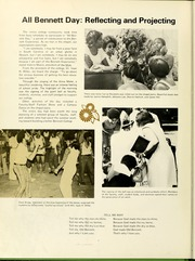 Page 12, 1974 Edition, Bennett College - Belle Yearbook (Greensboro, NC) online yearbook collection