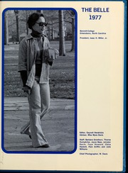 Page 5, 1977 Edition, Bennett College - Belle Yearbook (Greensboro, NC) online yearbook collection