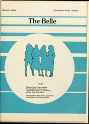 Page 5, 1981 Edition, Bennett College - Belle Yearbook (Greensboro, NC) online yearbook collection