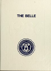 1986 Edition, Bennett College - Belle Yearbook (Greensboro, NC)