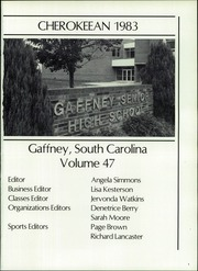 Page 5, 1983 Edition, Gaffney High School - Cherokeean Yearbook (Gaffney, SC) online yearbook collection