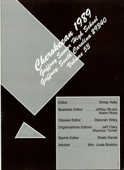 Page 5, 1989 Edition, Gaffney High School - Cherokeean Yearbook (Gaffney, SC) online yearbook collection