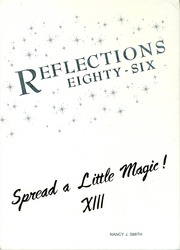 1986 Edition, Mauldin High School - Reflections Yearbook (Mauldin, SC)